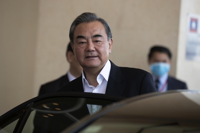 Il ministro degli esteri cinese Wang Yi