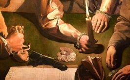 Georges de La Tour Il denaro versato part Leopoli Galleria Nazionale di Pittura BG Voznytskyi