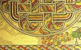 Uno dei 55 disegni con i rilievi di Hermes Balducci in mostra al Palazzo del Gran Maestro