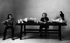 Jannis Kounellis grande Senza titolo una performance del 1973