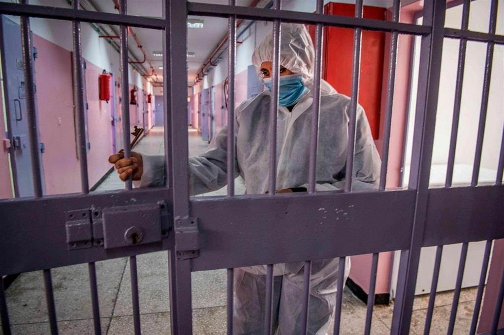 Un carcere durante la pandemia