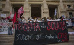 Contro la scuola dimezzata tre giorni di proteste il 26 settembre a Piazza del Popolo con Priorit alla scuola