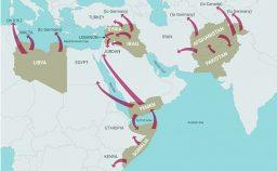 Da dove e perch partono 37 milioni in fuga dalle guerre Usa