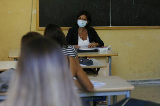 A scuola, @LaPresse