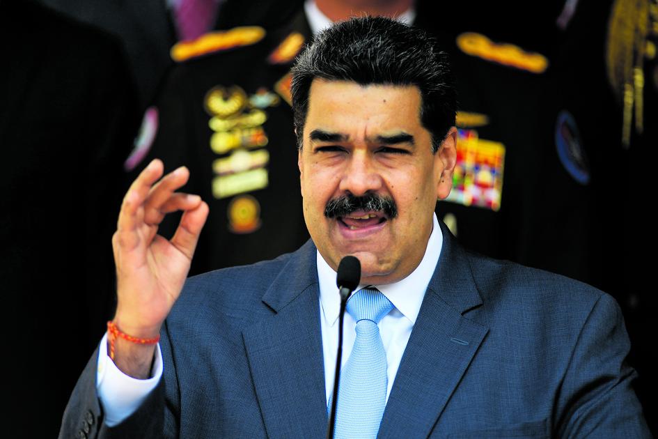 Il presidente venezuelano Maduro
