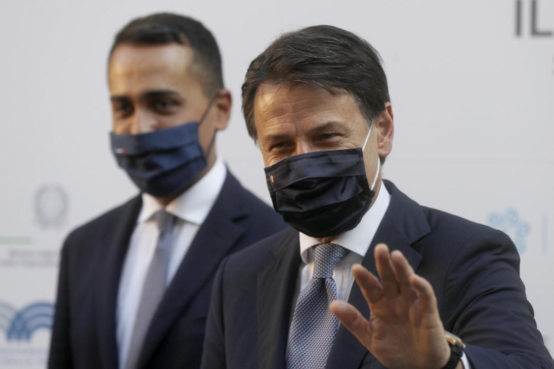 Il premier Conte e il ministro degli Esteri Di Maio