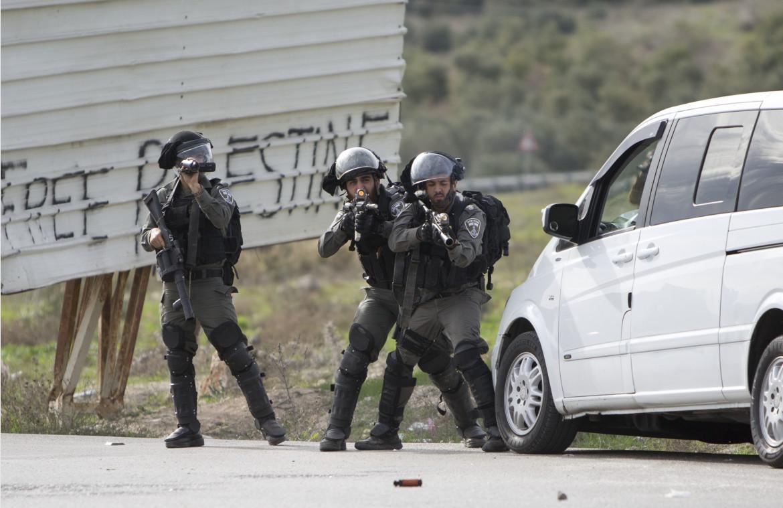 Checkpoint a Nablus, nei Territori occupati della Palestina.