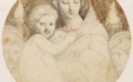 Ingres La Vergine dei Candelabri 1806 1820 dal dipinto di Raffaello Montauban Muse Ingres Bourdelle