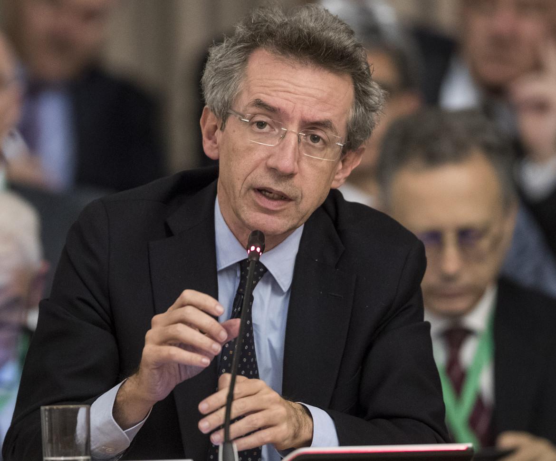 L'ex ministro dell'Università, Gaetano Manfredi