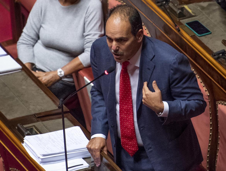 Il capogruppo del Pd in Senato Andrea Marcucci