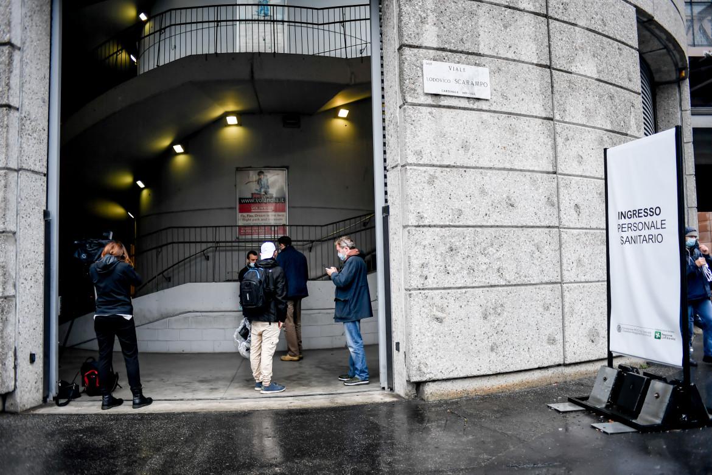 Milano, l'ospedale in Fiera riattivato
