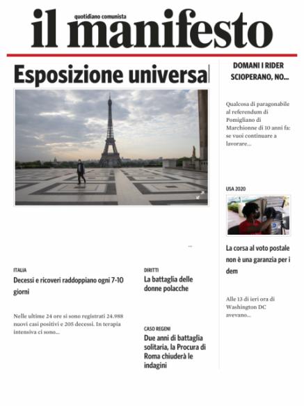 Edizione del 29102020