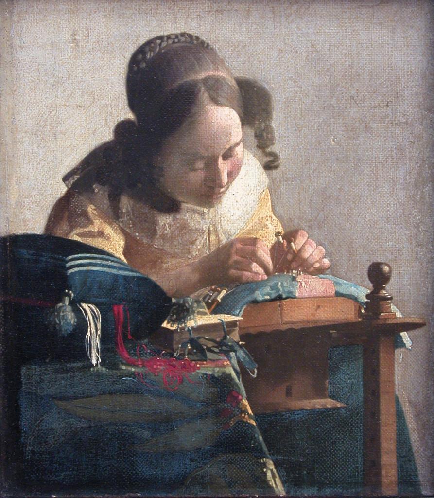 Johannes Vermeer, La merlettaia