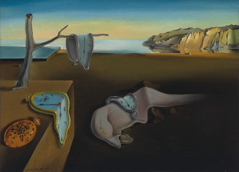 Salvador Dalí, «La persistenza della memoria», 1931