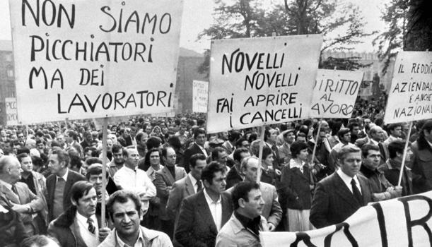 14 ottobre 1980. Marcia dei quarantamila