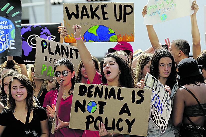 Manifestazione per il clima (foto d'archivio)
