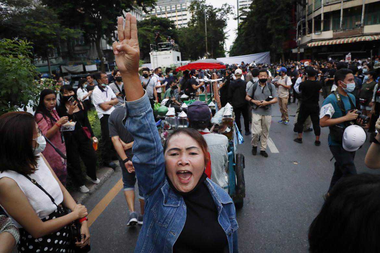 Proteste a Bangkok