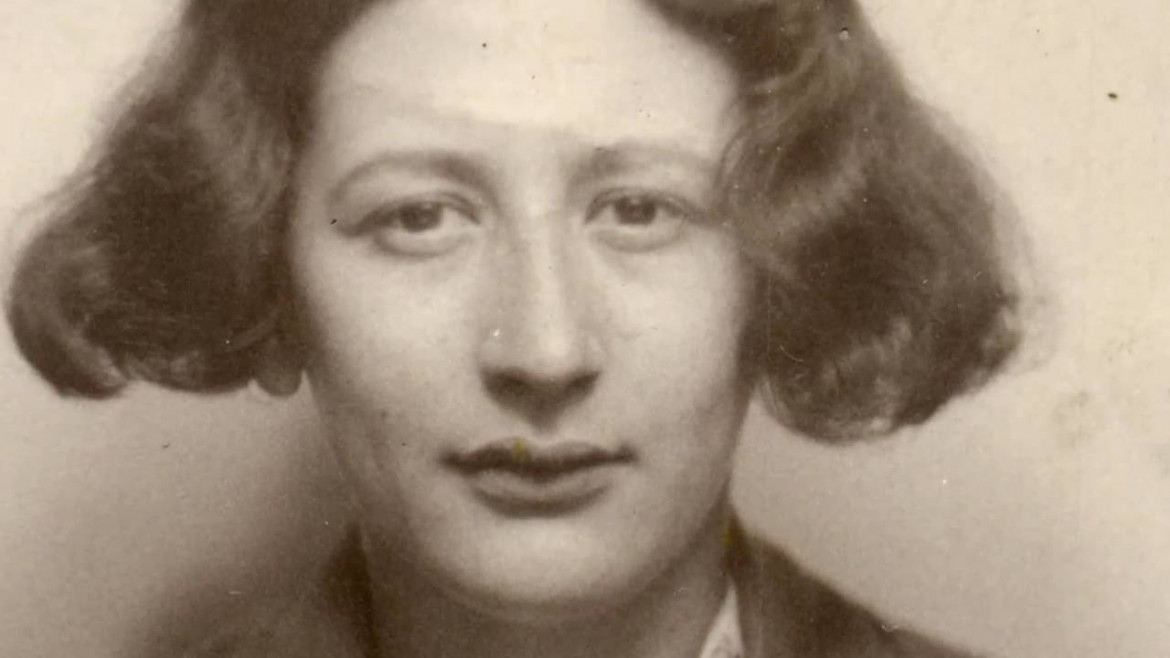 Un ritratto di Simone Weil, dal documentaio di Julia Haslett («An Encounter with Simone Weil», 2010)