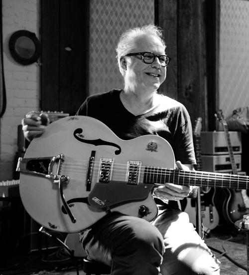 American jazz guitarist Bill Frisell performing at