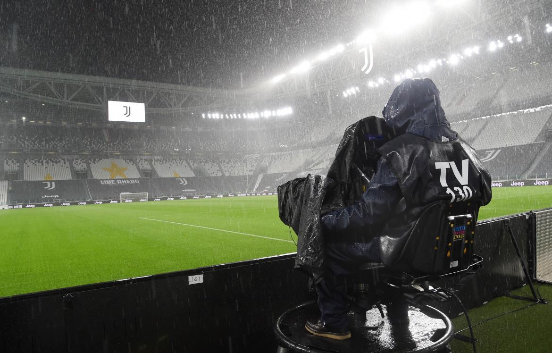 L'Allianz Stadium il giorno della gara non giocata con il Napoli