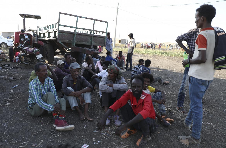 Rifugiati dalla regione etiope del Tigray