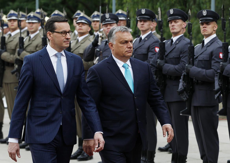 Viktor Orban e Mateusz Morawiecki