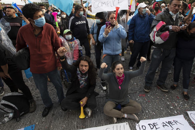Le proteste in Guatemala