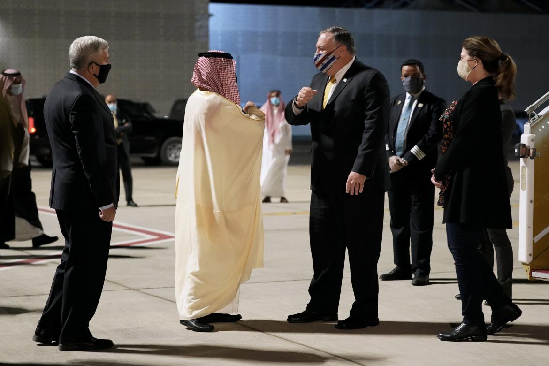Mohamed bin Salman e Mike Pompeo