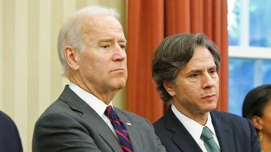 Joe Biden e Tony Blinken