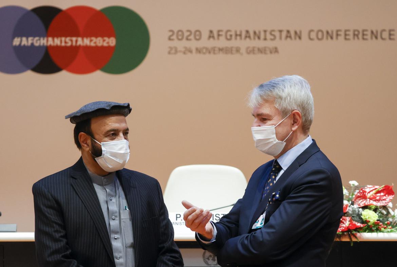 Il ministro dell'economia afghano alla conferenza Onu a Ginevra
