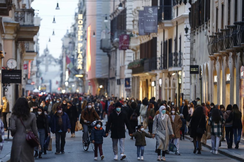 Black Friday nel centro di Roma