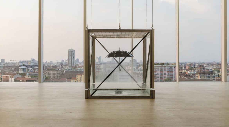 Damien Hirst, «Tears for everybody's looking at you», dal progetto Atlas, esposizione permanente presso la Fondazione Prada, Milano