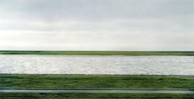Andreas Gursky, «Rhein II», 1999