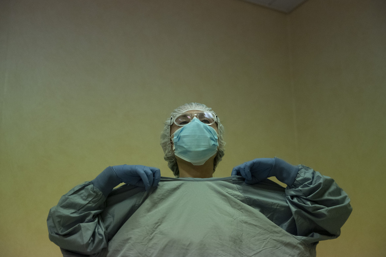 Personale sanitario al lavoro