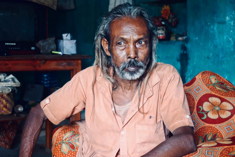 Baba Chander Singh, membro della tribù dei Binjhal