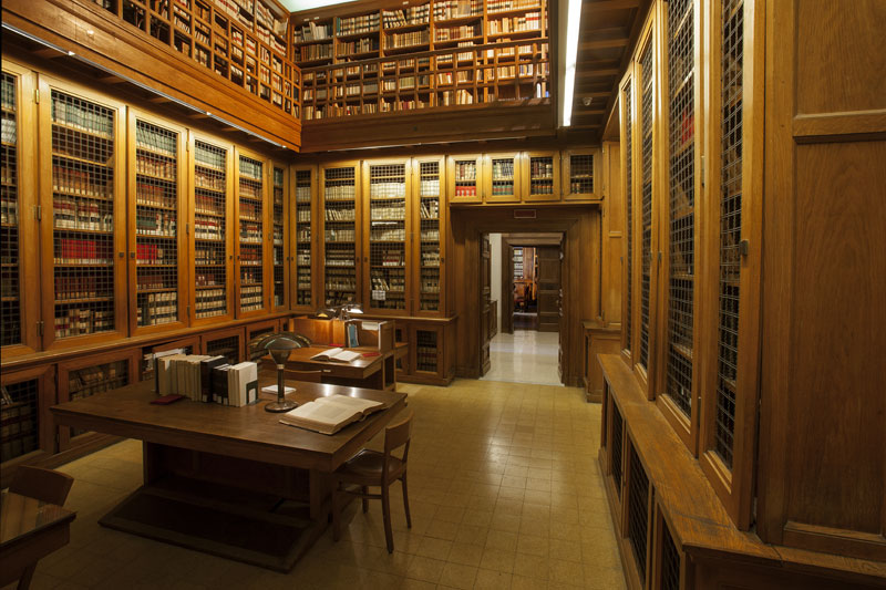 La biblioteca dell'Isime