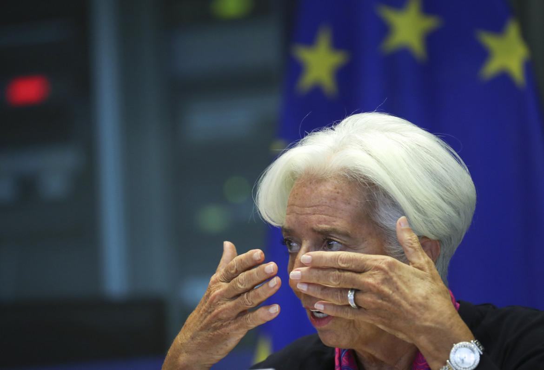 La presidente della Bce Christine Lagarde