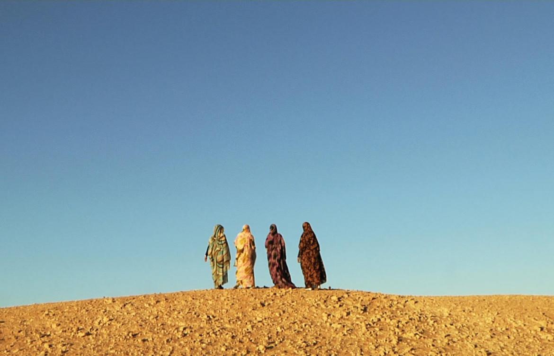 Un fotogramma dal film di Giancarlo Bocchi «La ribelle del Sahara»