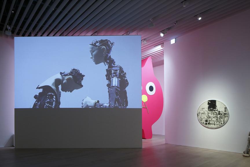 «Roppongi Crossing 2019: Connexions», installazione esposta al Mori Art Museum, Tokyo. Foto di Kioku Keizo