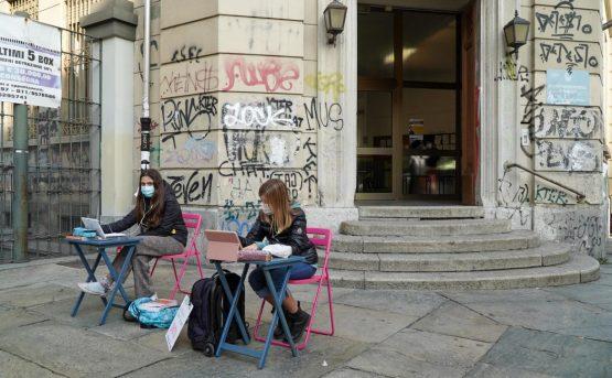 A Torino non si pu protestare contro la Didattica a distanza