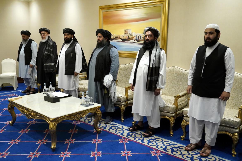 La delegazione talebana a Doha