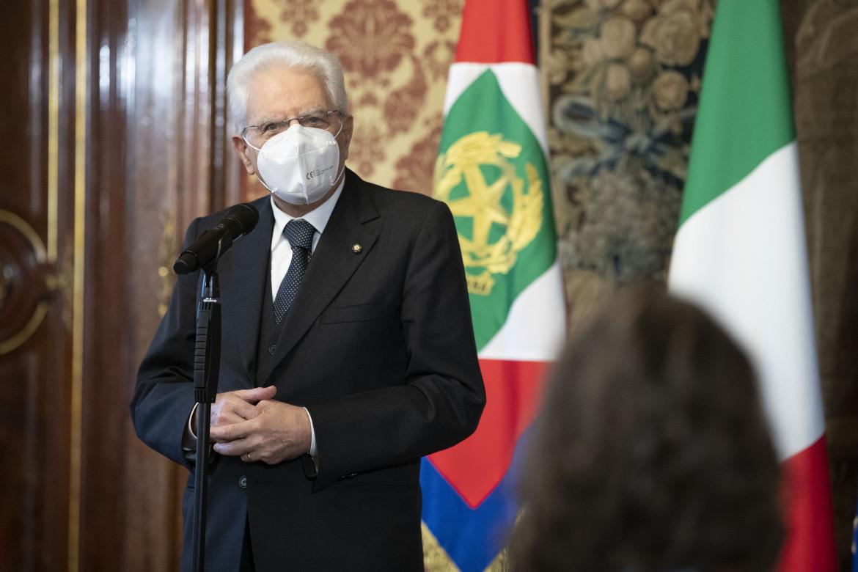 Presidente della Eepubblica, Mattarella.