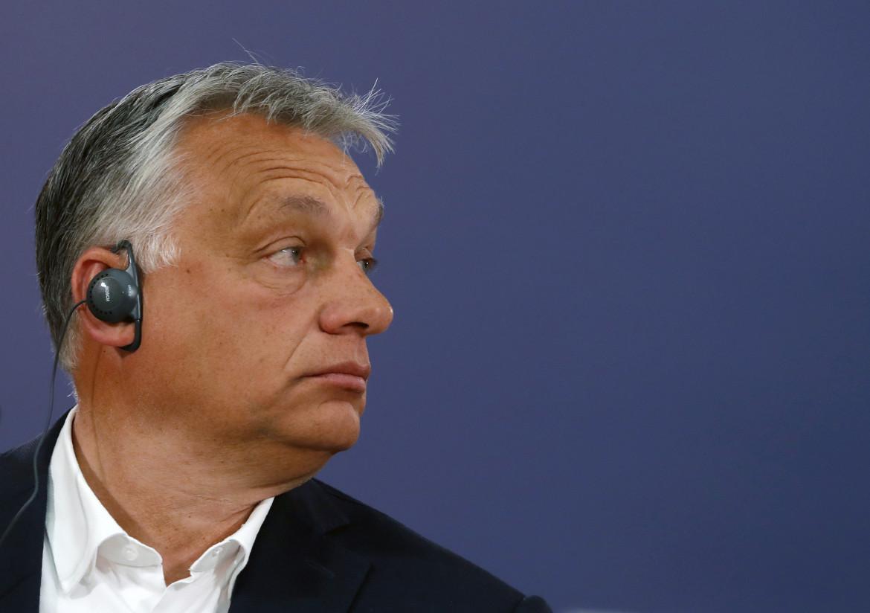 Il premier ungherese Viktr Orbán