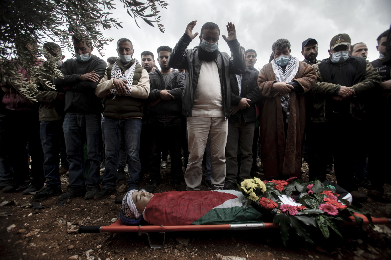 I funerali di Ali Abu Aliya
