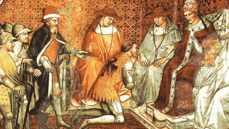 L'imperatore Enrico IV e papa Gregorio VII