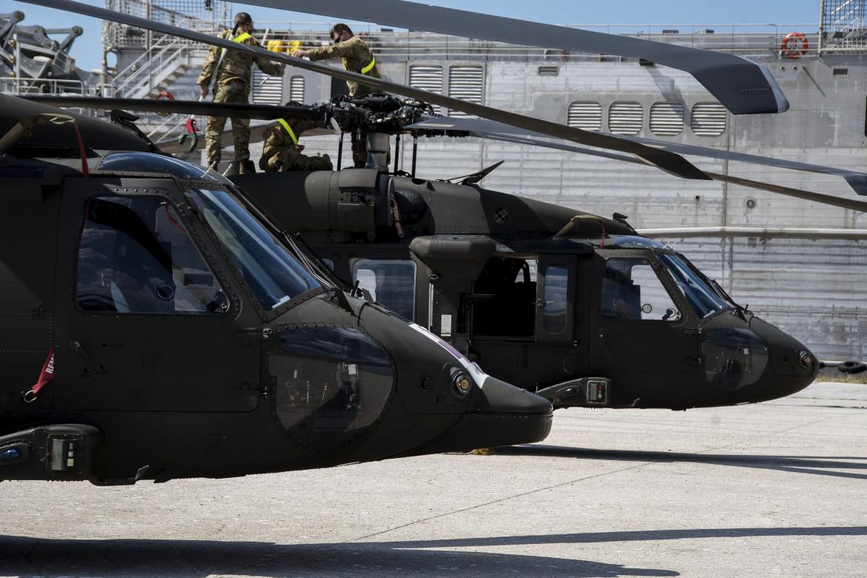 Elicotteri statunitensi in dotazione alla Nato tra Grecia e Turchia