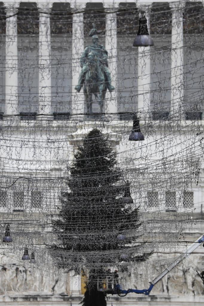 Albero di Natale, Roma
