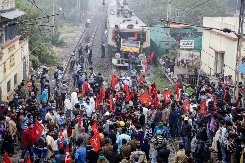 La protesta dei contadini in India