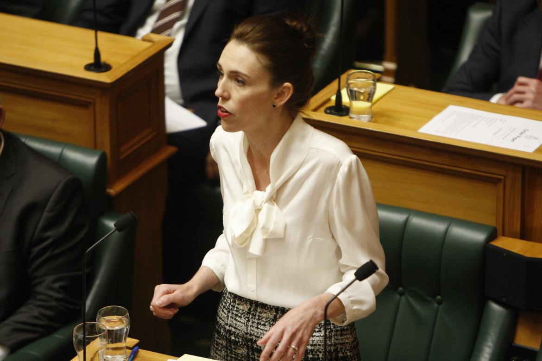La prima ministra neozelandese, Jacinta Ardner
