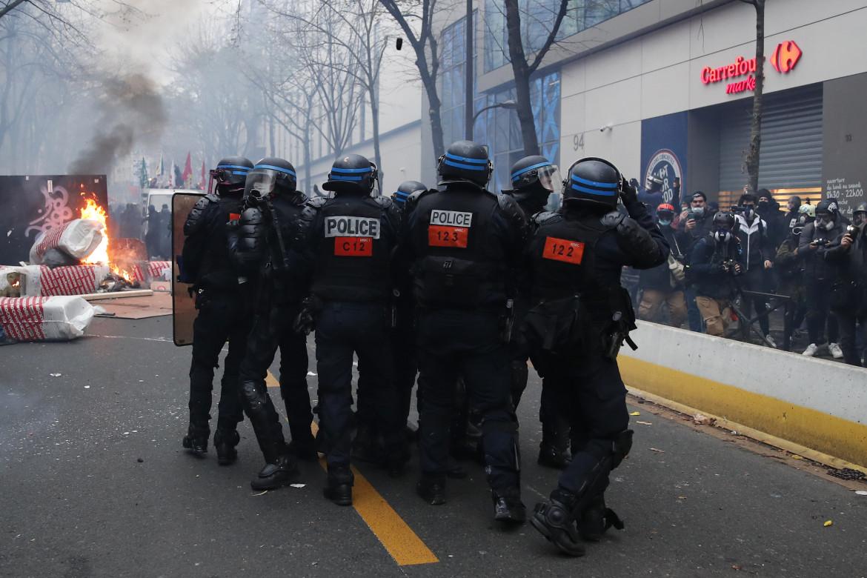 Manifestazione a Parigi.